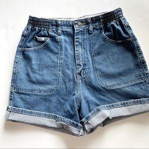 Vintage lee super high waisted mom shorts